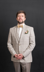 portrait of a man in a suit