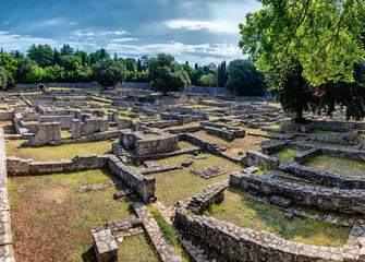 Das byzantinische Castrum auf Brijuni