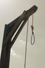 gallows punishment method in wild west