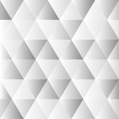 Abstract polygon grey graphic triangle  pattern.