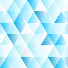 Abstract polygon blue graphic triangle  pattern.
