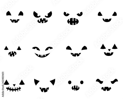 Halloween free scary pumpkin carving patterns 2012 | 10 scary.