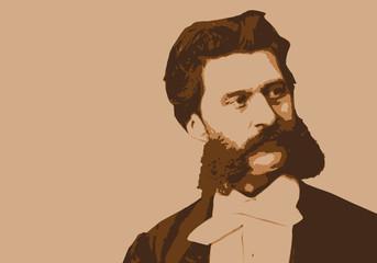 Strauss, Johann, musicien, portrait, personnage célèbre, musique, célèbre, classique, compositeur