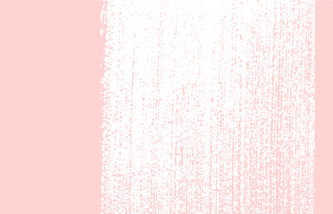 Grunge texture. Distress pink rough trace. Good-lo