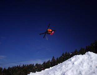 ski freestyle - jump