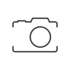 Photo camera, line icon