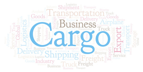 Cargo word cloud.