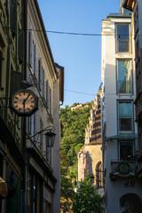 Street in Merano, South Tyrol, Italy