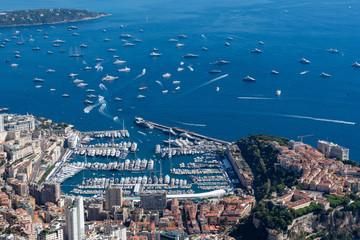 Foto op Canvas Brazilië Monaco Yacht Show Sepetember 2018