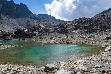 Sallent Joch, Adamello Brenta National Park, South Tyrol, Italy