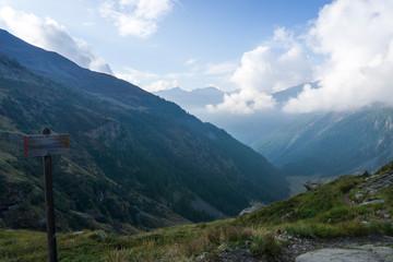 Idyllic view of Adamello Brenta National Park, South Tyrol / Italy