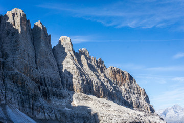 Idyllic view of Adamello Brenta National Park, Bocca di Tuckett, South Tyrol / ItalyIdyllic view of Adamello Brenta National Park, Bocca di Tuckett, South Tyrol / Italy