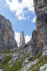 Idyllic view of Adamello Brenta National Park, South Tyrol / Italy