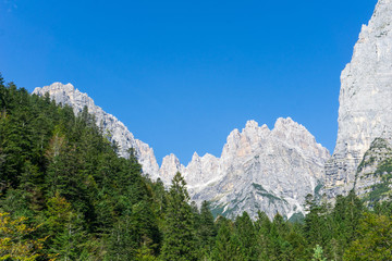 Idyllic view of Adamello Brenta National Park