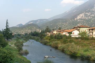 Idyllic view of Arco, Italy