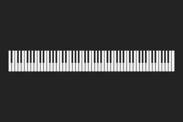 Piano keyboard instrument background