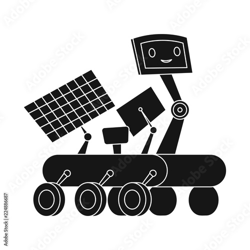 Vector Illustration Of Robot And Factory Icon Set Of Robot And