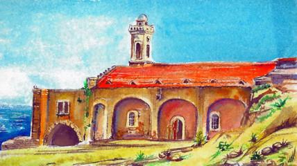 st Andrea's monastery Cyprus