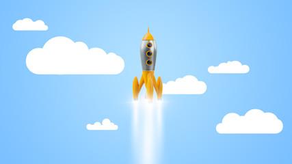 a retro rocket start up