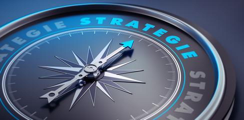 Dunkler Kompass - Konzept Strategie