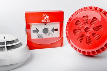 Obraz Fire system / System pożarowy - fototapety do salonu