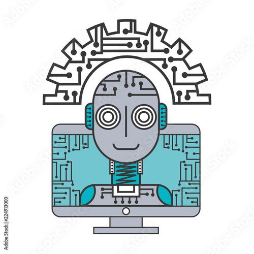 robot artificial intelligence computer gear enginner