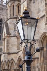 Laterne am York Minster, England