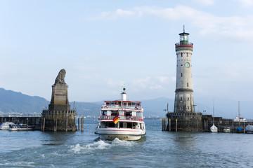 Lindau, Bodensee, Hafen, Schiff, Deutschland