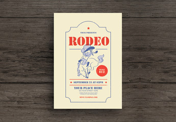 Rodeo Flyer Layout