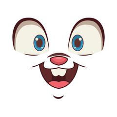 Bunny face emoji
