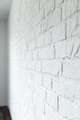 rustical white brick wall