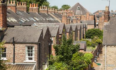 Backsteinhäuser in England