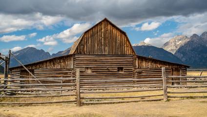 Mormon Barn Teton National Park Wyoming