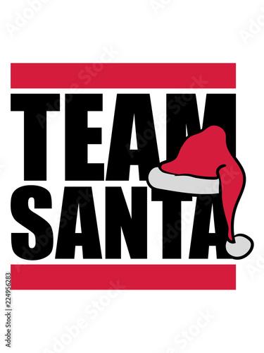 freunde crew team frohe christmas weihnachtsmann nikolaus ...