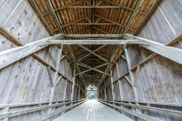 1892 Felton Covered Bridge. The Felton Covered Bridge is a covered bridge over the San Lorenzo River in Felton, Santa Cruz County in the U.S. state of California.