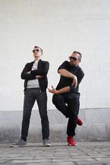 Two men in sunglasses