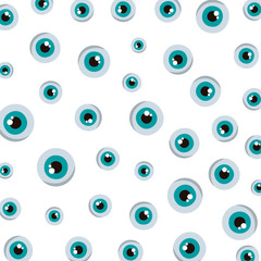 comic eye human pattern background