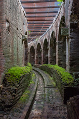 Ancient Roman Anfiteatro Amphitheater at Campano Italy