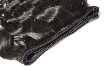 unfolded body wavy black human hair weaves extensions bundle