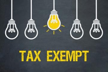 Fototapeta Tax exempt obraz
