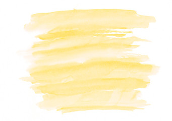 Jasmine or vanilla watercolor gradient brush strokes. Beautiful abstract background. It's useful for graphic design, backdrops, prints, wallpaper and etc.