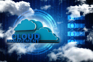 3d rendering File storage in cloud management