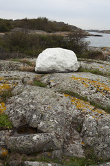white stone in Sweden