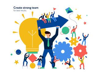 Teamwork Page Design