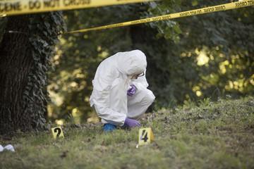 Forensic found a mark