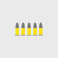 live ammunition, vector