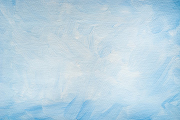 blue art painted background texture