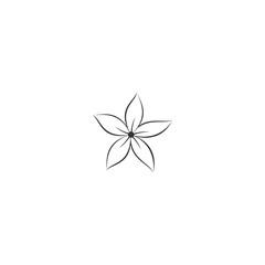 logo flower modern