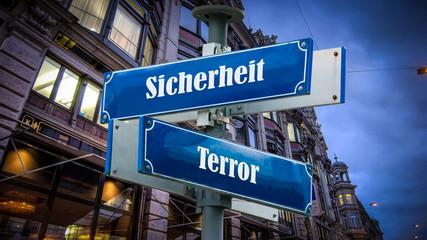 Schild 372 - Terrorsicherheit
