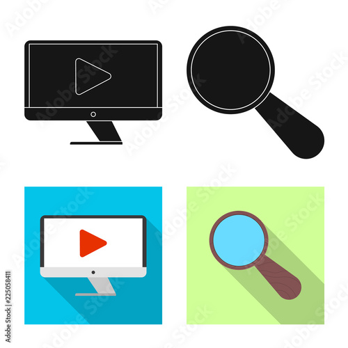 Vector Illustration Of Education And Learning Icon Set Of Education